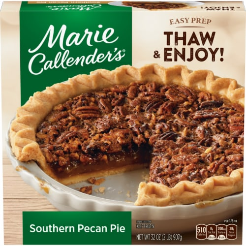 Marie Callender's Southern Pecan Pie Perspective: front