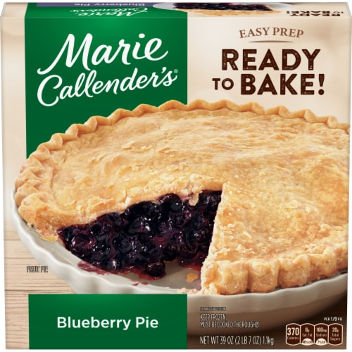 Marie Callender's Blueberry Pie Perspective: front
