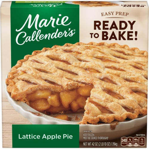 Marie Callender's Lattice Apple Pie Perspective: front