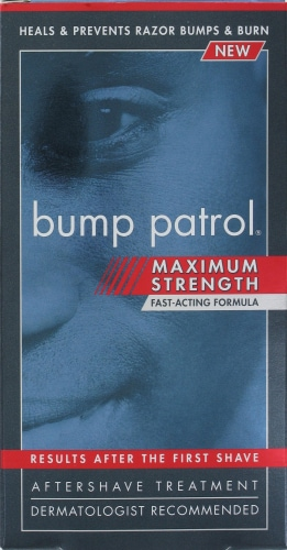 Bump Patrol Maximum Strength Aftershave Treatment Perspective: front