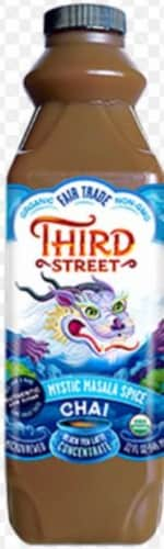 Third Street Mystic Masala Spice Chai Tea Perspective: front