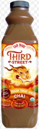 Third Street Dragon Tongue Ginger Chai Tea Perspective: front