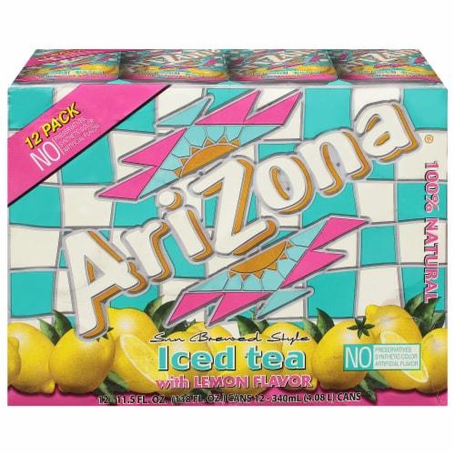AriZona Iced Tea with Lemon Perspective: front