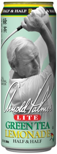 AriZona Arnold Palmer Lite Green Tea Lemonade Half & Half Perspective: front