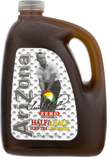 AriZona Arnold Palmer Zero Calorie Iced Tea and Lemonade Perspective: front