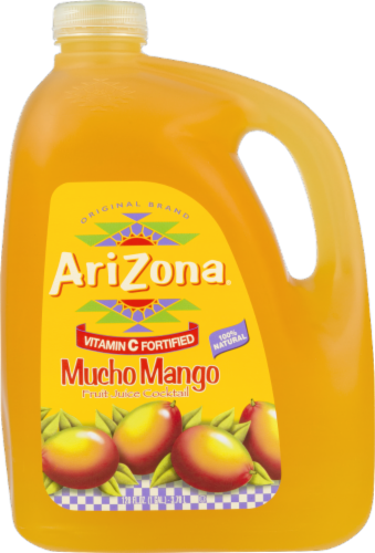 AriZona Mucho Mango Fruit Juice Cocktail Perspective: front