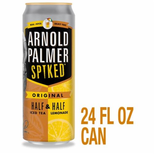 Arnold Palmer Spiked Iced Tea & Lemonade Flavored Malt Beverage Perspective: front