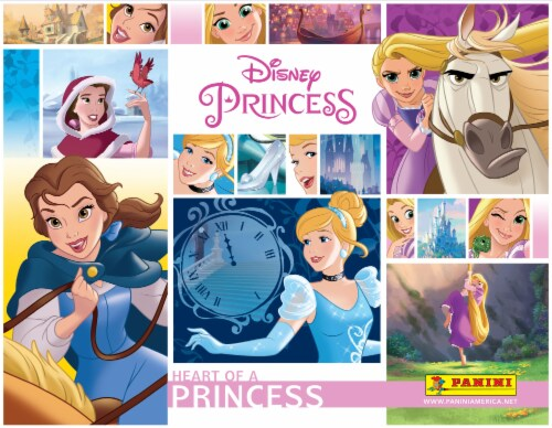 2018 Disney Princess Stickers: Heart of a Princess Perspective: front