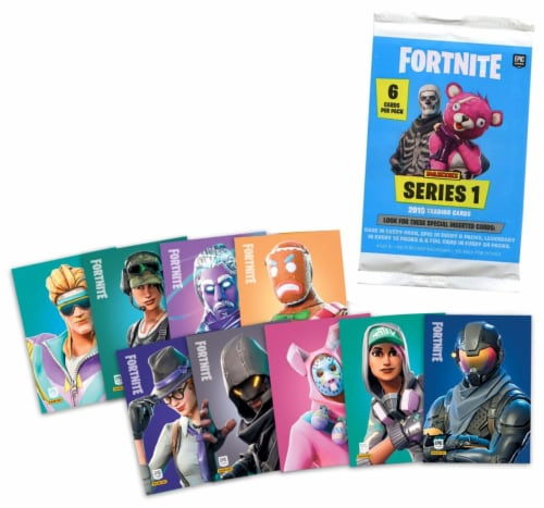 Fortnite Series 1 Trading Cards Perspective: front