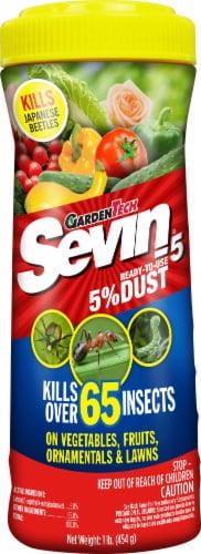 Sevin® Dust Shaker Insect Killer Bottle Perspective: front