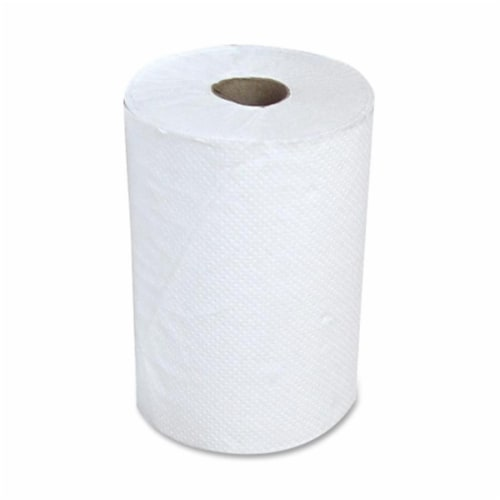 STEFCO INDUSTRIES INC. STF410105 Hardwound Paper Towel, 12RL- CT, White Perspective: front