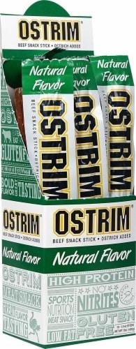 Ostrim Natural  Snack Sticks   Natural Perspective: front