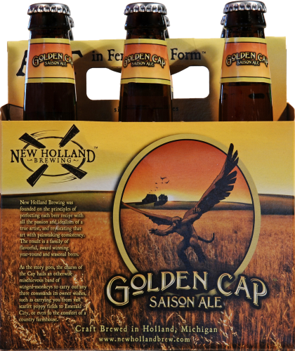 New Holland Brewing Golden Gap Saison Ale Perspective: front