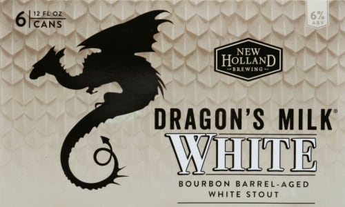 New Holland Brewing Dragon's Milk Bourbon Barrel-Aged White Stout Perspective: front