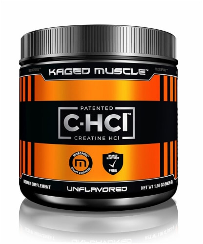 Kaged Muscle  C-HCl™ Powder   Unflavored Perspective: front