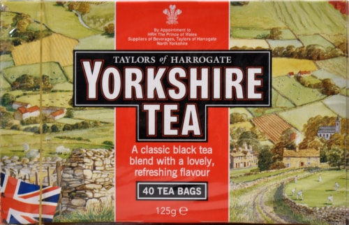 Yorkshire Tea Perspective: front