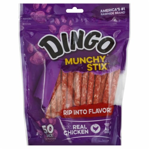 Dingo Munchy Stix Perspective: front