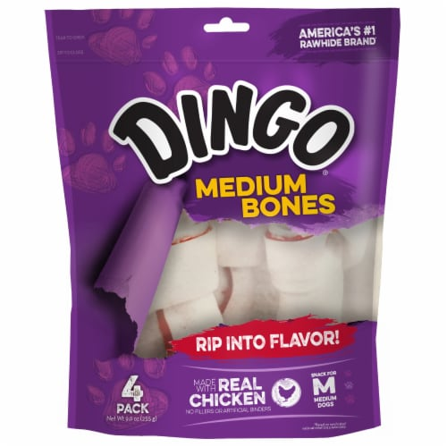 Dingo Medium Dog Bone Value Bag Perspective: front