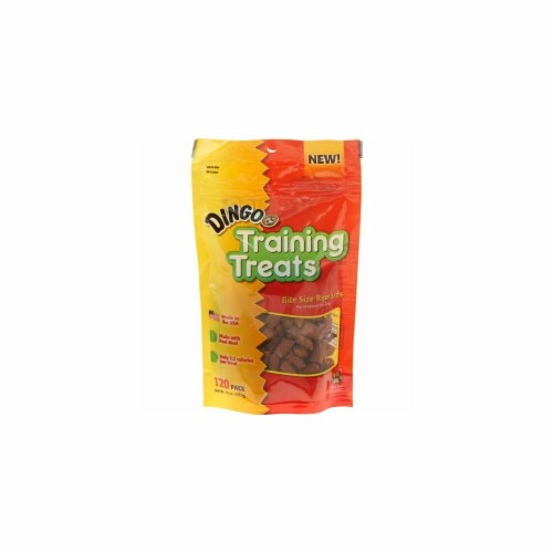 Dingo DN-99162PDQ Training Treats 120 Count Perspective: front