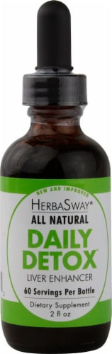 Herbasway Laboratories  Daily Detox Liver Enhancer® Perspective: front