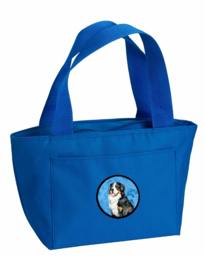Carolines Treasures  LH9379BU-8808 Blue Bernese Mountain Dog  Lunch Bag or Doggi Perspective: front