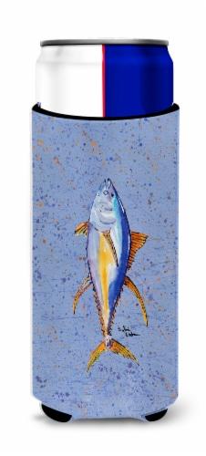 Carolines Treasures  8356MUK Fish Tuna Ultra Beverage Insulators for slim cans Perspective: front