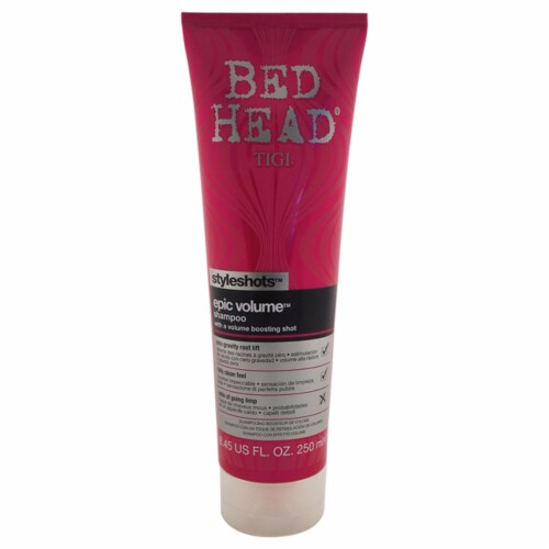 Bed Head Epic Volume Shampoo Perspective: front