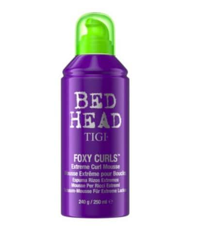 TIGI Bed Head Foxy Curls Exteme Curl Mousse Perspective: front