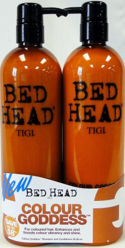 TIGI Bed Head Colour Goddess Oil Infused Shampoo & Conditioner Duo Pack Perspective: front