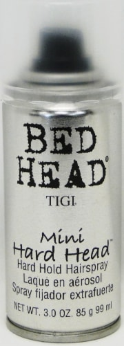Bed Head Mini Hard Head Hard Hold Hairspray Perspective: front