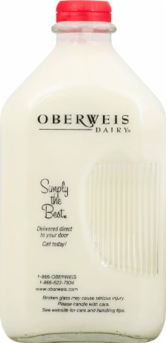 Oberweis Dairy Whole Milk Perspective: front
