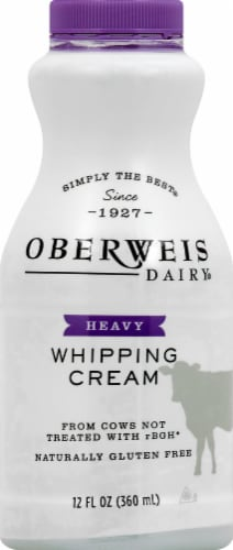 Oberweis Heavy Whipping Cream Perspective: front