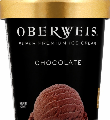 Oberweis Chocolate Ice Cream Perspective: front