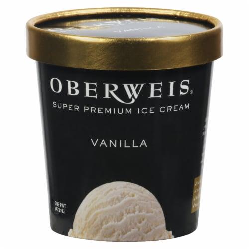 Oberweis Vanilla Ice Cream Perspective: front