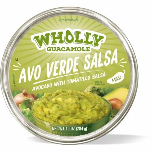 Wholly Guacamole Mild Avocado Verde Salsa Perspective: front