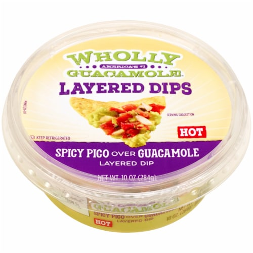 Wholly Guacamole & Spicy Pico Perspective: front