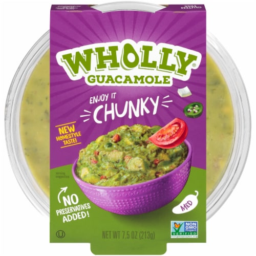 Wholly Guacamole Chunky Guacamole Perspective: front