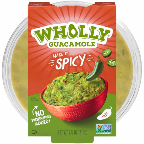 Wholly Guacamole Spicy Guacamole Perspective: front