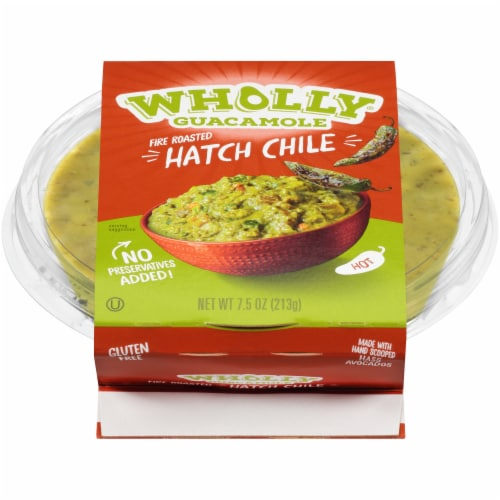 Wholly Guacamole Hatch Chile Guacamole Perspective: front