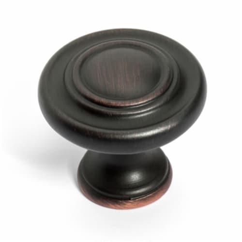 Dynasty Hardware K-81295-12P Super Saver Ring Cabinet Knob, Venetian Bronze Perspective: front