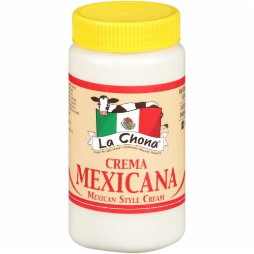 La Chona Crema Mexicana Mexican Style Cream Perspective: front