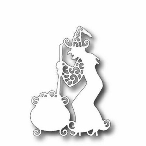 Tutti Designs - Dies - Cooking Witch Perspective: front