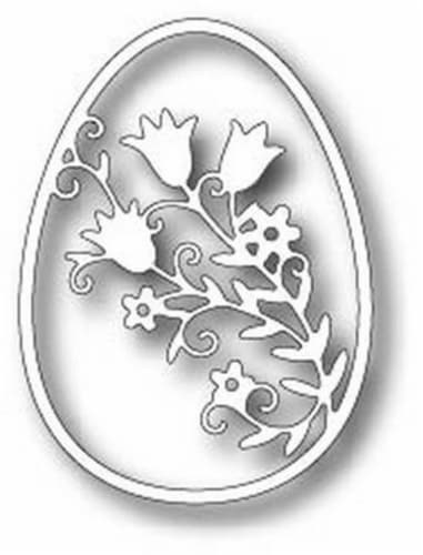 Tutti Designs - Dies - Floral Tulip Egg Perspective: front