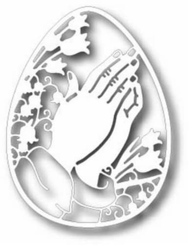 Tutti Designs - Dies - Praying Hands Egg Perspective: front