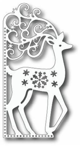 Tutti Designs - Dies - Scrolly Deer Edge Perspective: front
