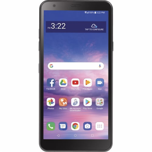 Tracfone Simple Mobile LG Journey LTE L322DL Smartphone Perspective: front
