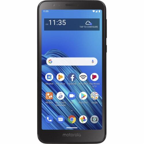 Motorola Moto e6 Tracfone - Black Perspective: front