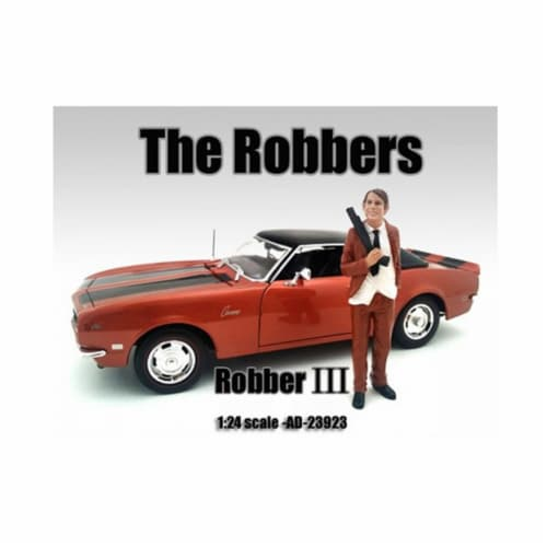 American Diorama 23923 The Robbers Robber III Figure for 1-24 Scale Models Perspective: front