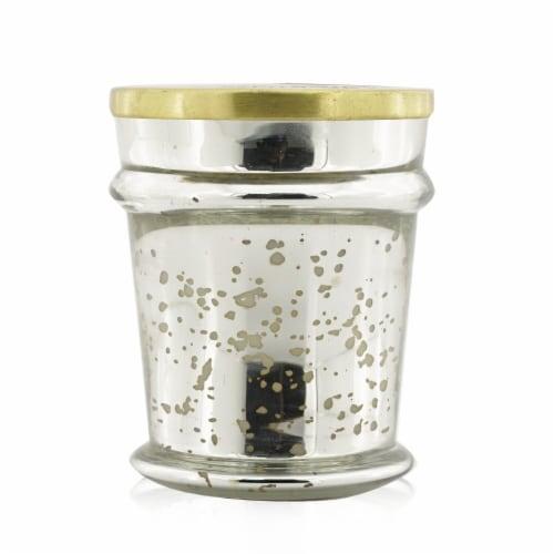 Capri Blue Mercury Found Glass Candle  Havana Vanilla 227g/8oz Perspective: front