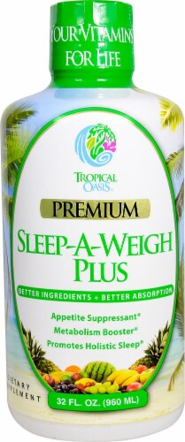 Tropical Oasis  Sleep-A-Weigh Plus Perspective: front